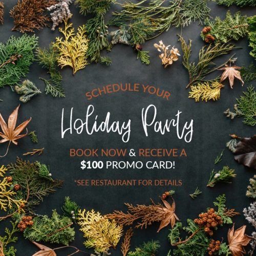 Holiday Promo Incentive